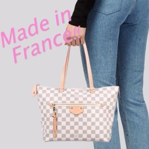 Made in France! Louis Vuitton Damier Azur Iena PM